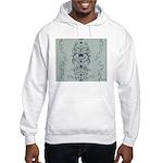 Papercut: Blue on Blue Hooded Sweatshirt