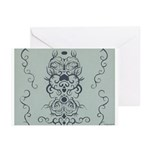 Papercut: Blue on Blue Greeting Cards (Pk of 20)