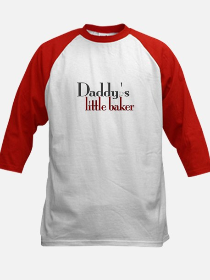 Daddy's Little Baker Kids Baseball Jersey