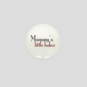 Mommy's Little Baker Mini Button