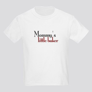 Mommy's Little Baker Kids Light T-Shirt