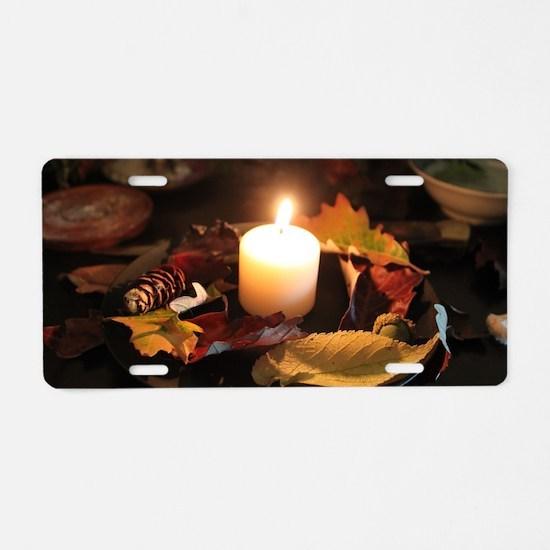 Cute Samhain Aluminum License Plate