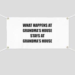Stays At Grandmas House Banner