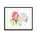 I am My Beloved's Framed Panel Print