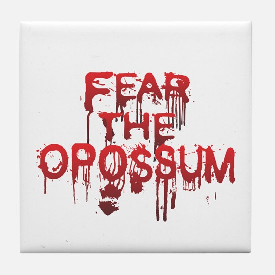 Fear Tile Coaster