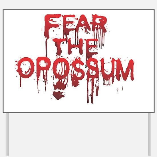 Fear Yard Sign