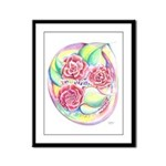 Like A Rose Among Thorns Framed Panel Print