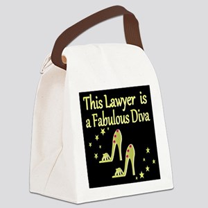 CHIC LAWYER Canvas Lunch Bag