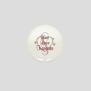 Live Love Karaoke Mini Button
