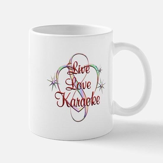 Live Love Karaoke Mug
