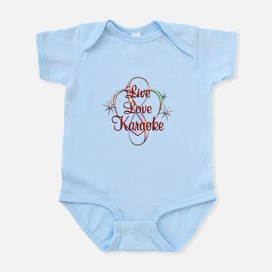 Live Love Karaoke Infant Bodysuit