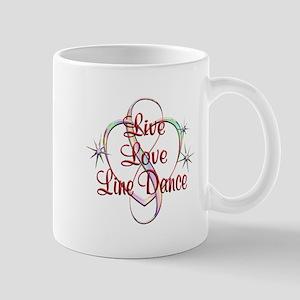 Live Love Line Dance Mug
