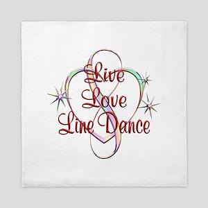 Live Love Line Dance Queen Duvet