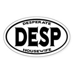 Desperate Housewife Oval Sticker