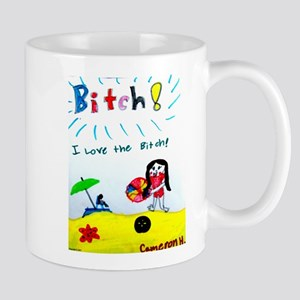 I Love The Beach Mugs