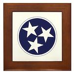 Tennessee Stars Framed Tile