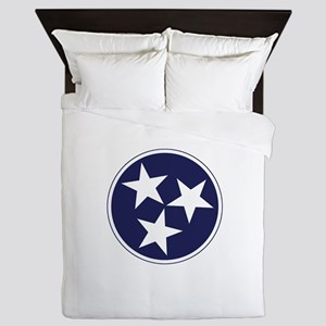 Tennessee Stars Queen Duvet