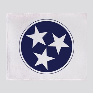 Tennessee Stars Throw Blanket