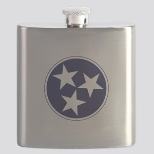 Tennessee Stars Flask