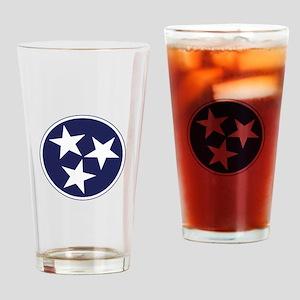 Tennessee Stars Drinking Glass