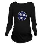 Vintage Tennessee Stars Long Sleeve Maternity T-Sh