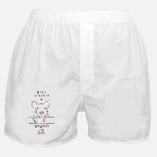 Cute Animal activist Boxer Shorts