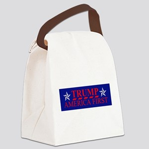 Trump America First Canvas Lunch Bag
