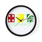 Rasta Wear 101: 420 Special Dice - Wall Clock