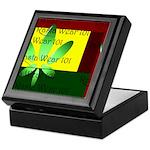 Classic Rasta Wear 101 - Herb Stash Keepsake Box