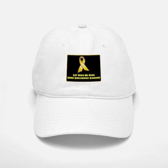 Cure Childhood Cancer! Baseball Baseball Cap