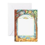 Roots in Jerusalem (Ketubah) Greeting Cards (Pk of