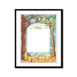 Roots in Jerusalem (Ketubah) Framed Panel Print