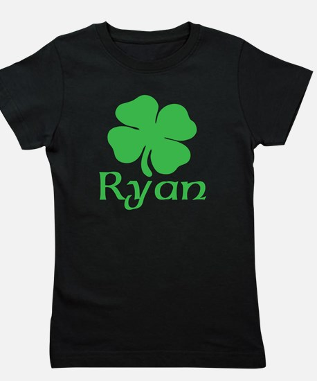 Ryan (shamrock) Girl's Tee