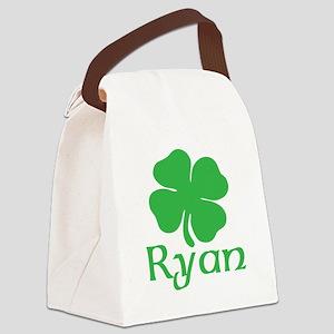 Ryan (shamrock) Canvas Lunch Bag