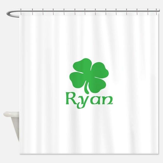 Ryan (shamrock) Shower Curtain