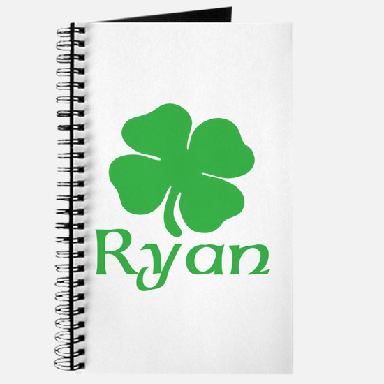 Ryan (shamrock) Journal
