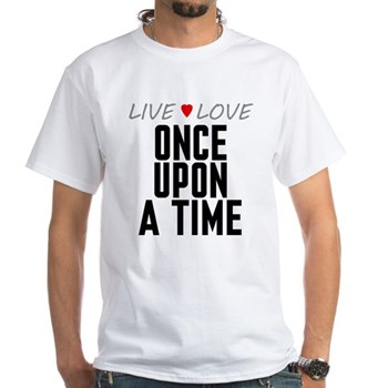 Live Love Once Upon a Time White T-Shirt