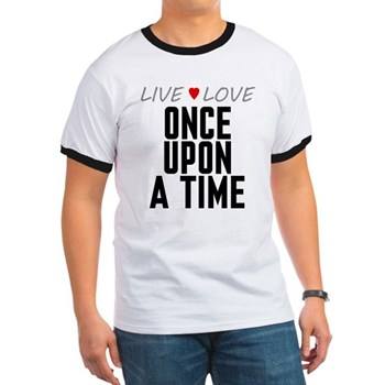 Live Love Once Upon a Time Ringer T-Shirt