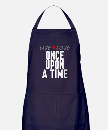 Live Love Once Upon a Time Dark Apron