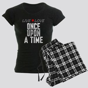 Live Love Once Upon a Time Women's Dark Pajamas
