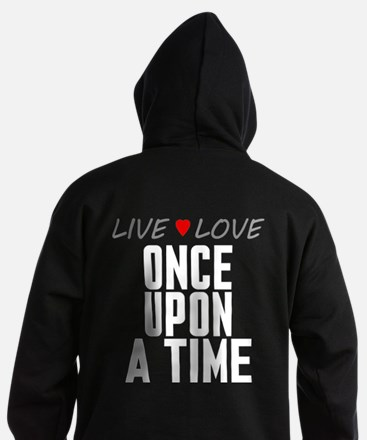 Live Love Once Upon a Time Dark Hoodie