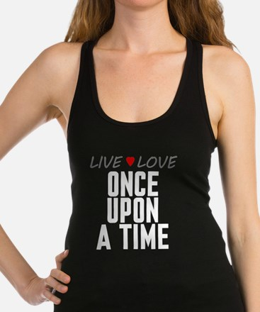 Live Love Once Upon a Time Dark Racerback Tank Top