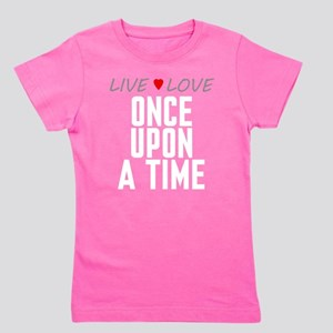 Live Love Once Upon a Time Girl's Dark Tee