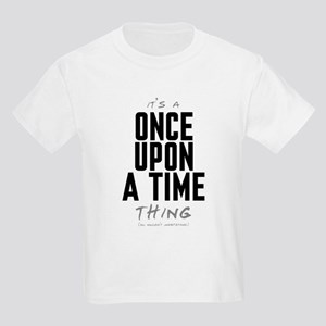 It's a Once Upon a Time Thing Kids Light T-Shirt
