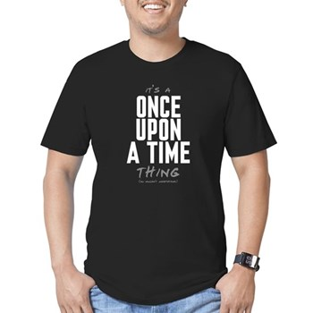 It's a Once Upon a Time Thing Men's Dark Fitted T-Shirt