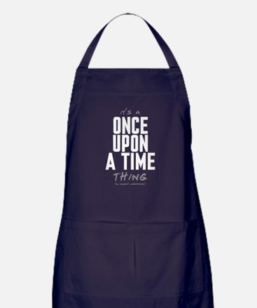 It's a Once Upon a Time Thing Dark Apron