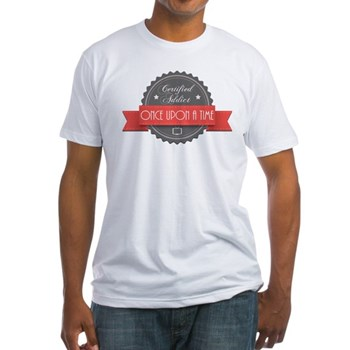 Certified Once Upon a Time Addict Fitted T-Shirt