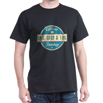 Official Once Upon a Time Fanboy Dark T-Shirt