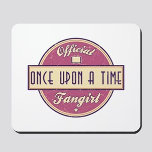 Official Once Upon a Time Fangirl Mousepad