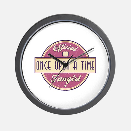 Official Once Upon a Time Fangirl Wall Clock